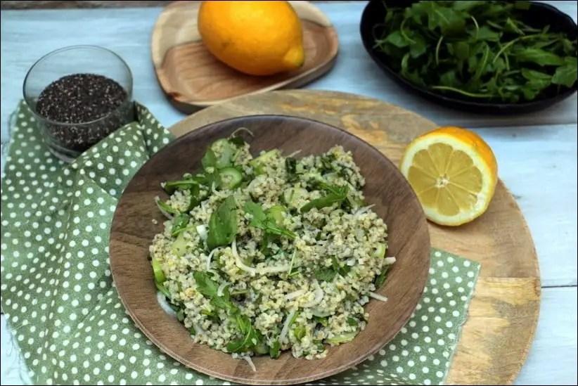 salade boulgour chia