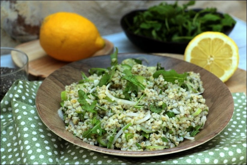 salade boulgour ete