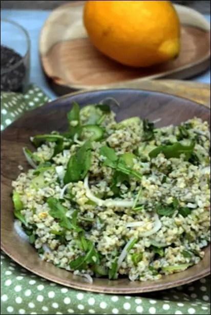 salade boulgour dietetique