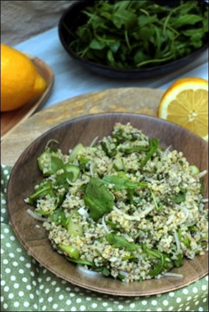 salade boulgour persil