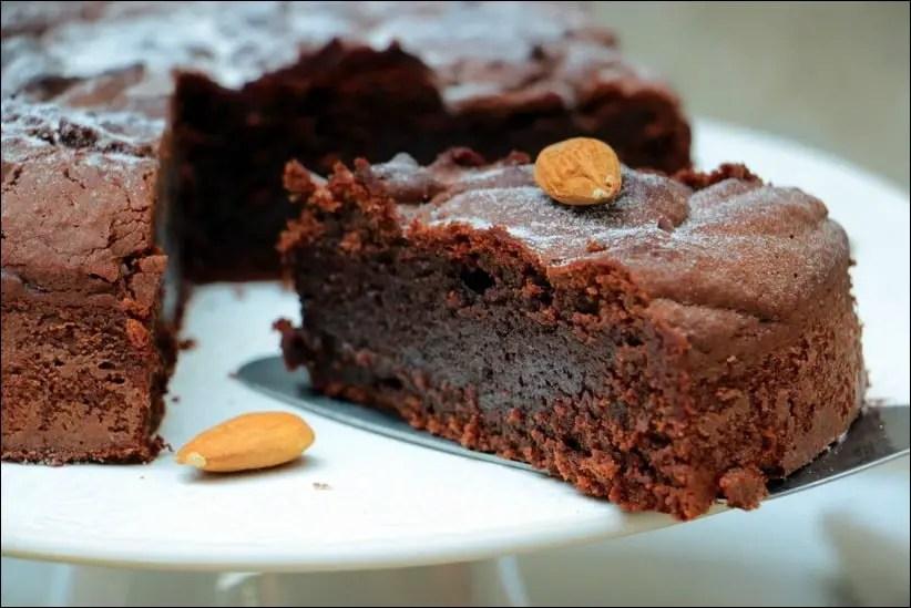 torta caprese chocolat amande