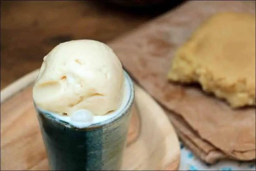 recette creme glacée amande