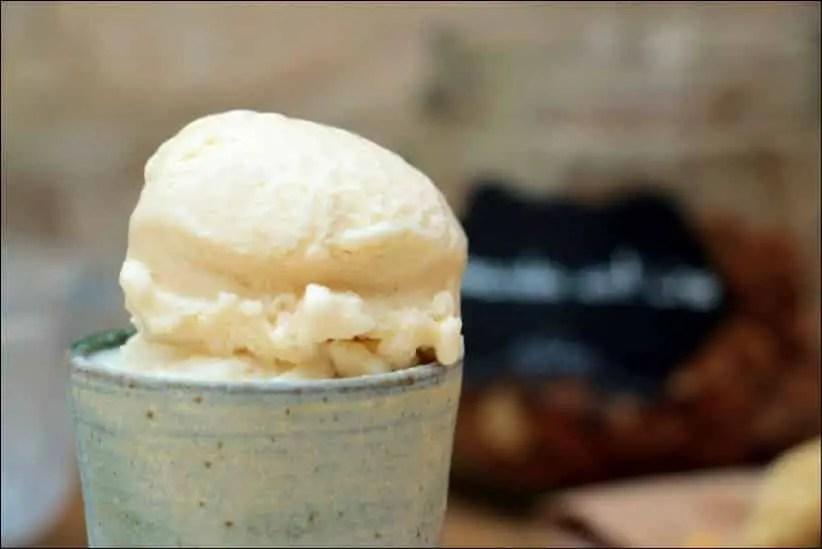creme glacee pate d'amande