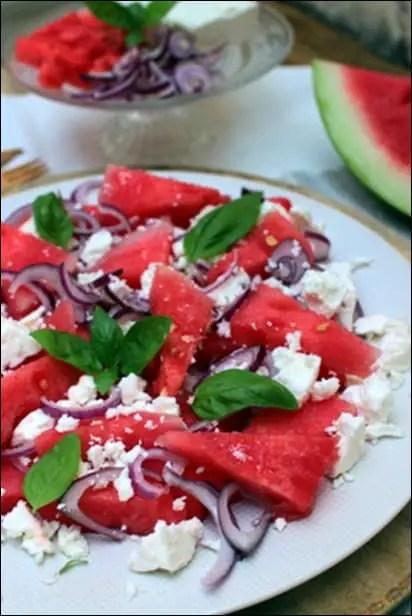 salade grecque pasteque feta