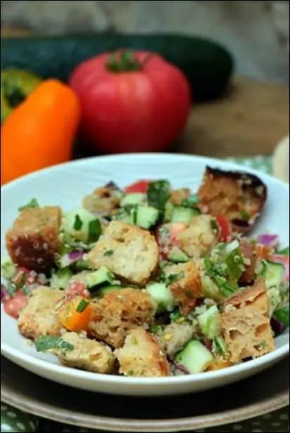 salade fattouche ottolenghi
