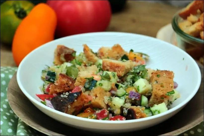 salade fattouche revisitée