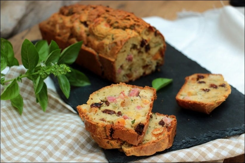 cake jambon apero