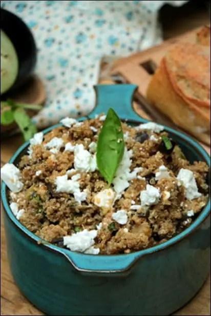salade quinoa froide