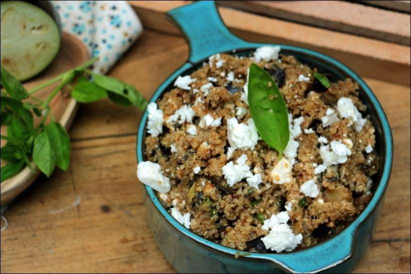 salade quinoa feta