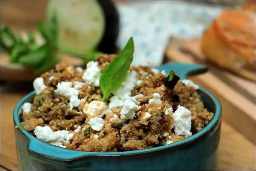 salade de quinoa légumes d'été