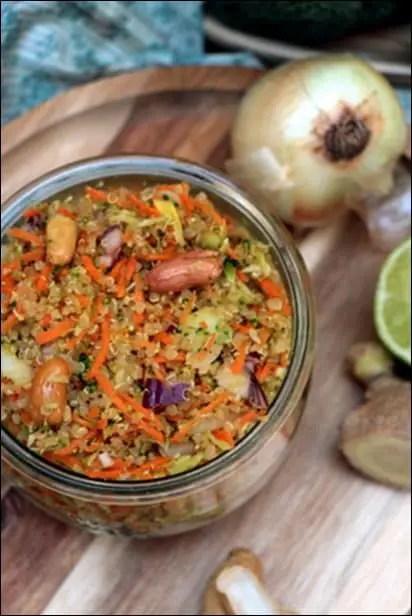 taboulé quinoa brocoli