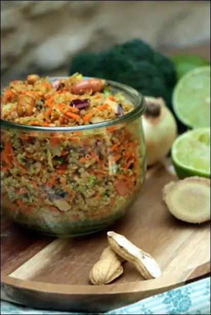 taboulé quinoa facile