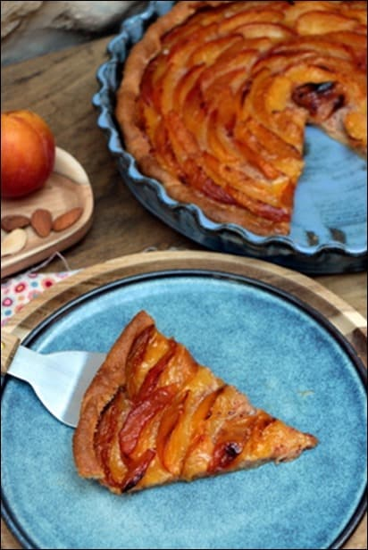 tarte aux prunes sans creme