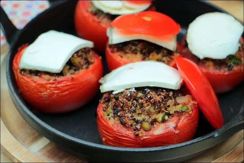 tomates farcies healthy