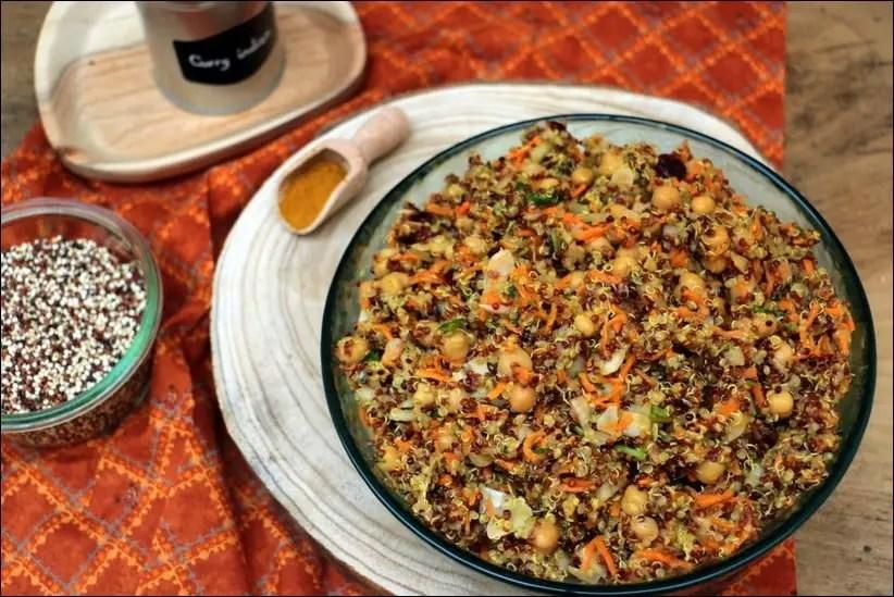 salade quinoa detox