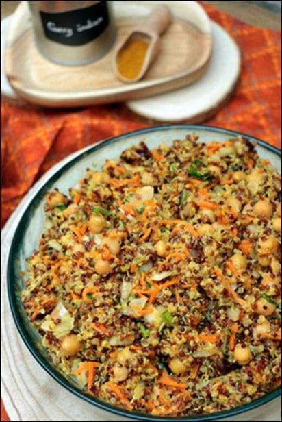 salade quinoa coriandre