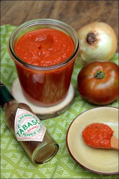 sauce tomate recette