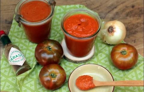 sauce tomate aux légumes d'été