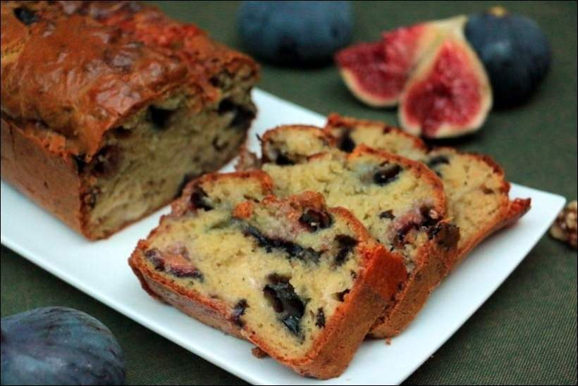 cake figues noix