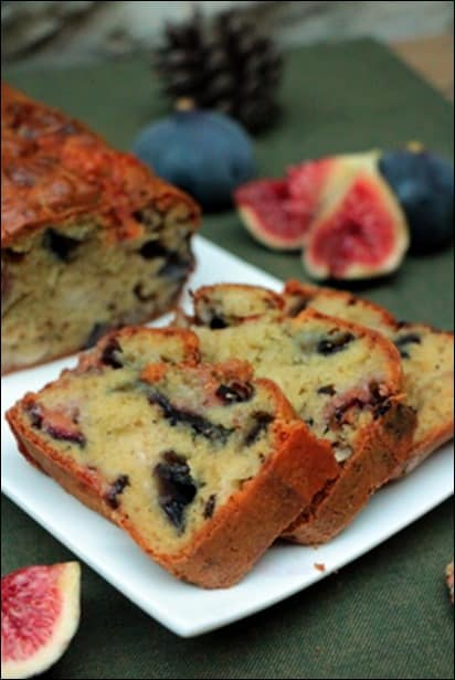 cake figues gorgonzola