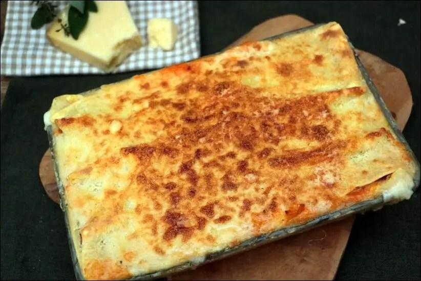 lasagne potiron jambon fumé