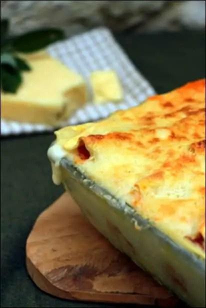 lasagne potiron bechamel