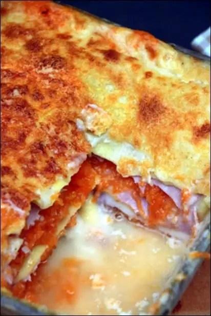 lasagne potiron cantal