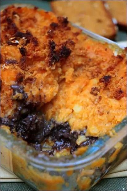 parmentier butternut boudin noir
