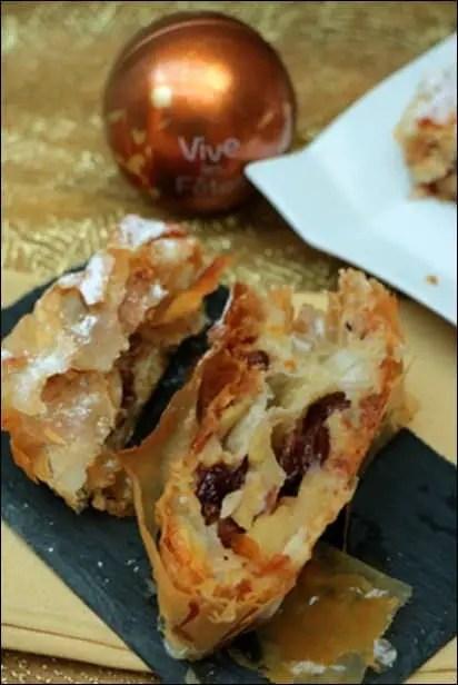 strudel pommes cannelle