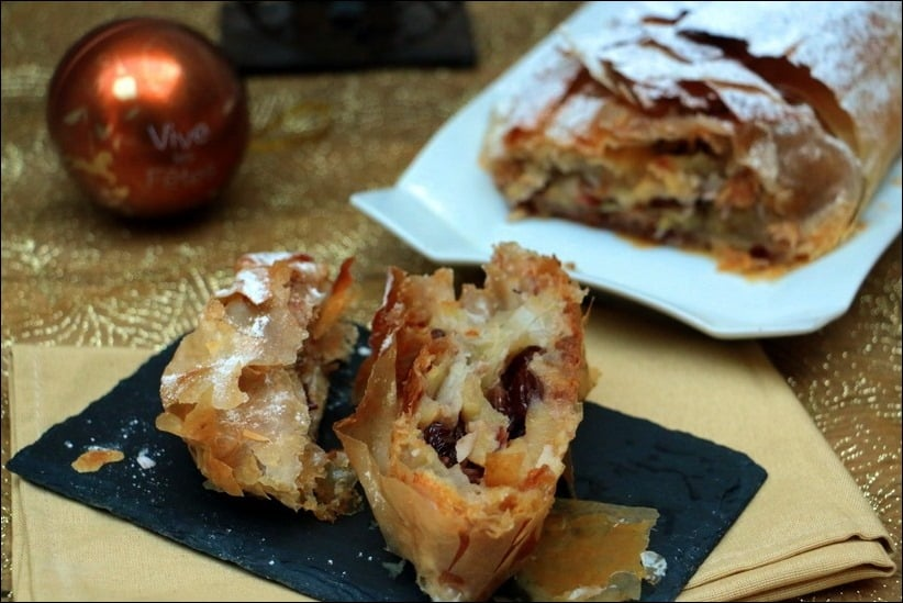 strudel aux pommes traditionnel