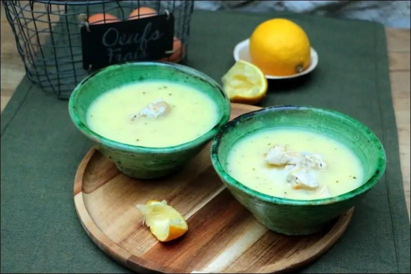 soupe poulet roti