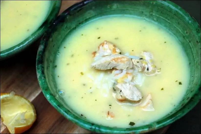 soupe poulet juive