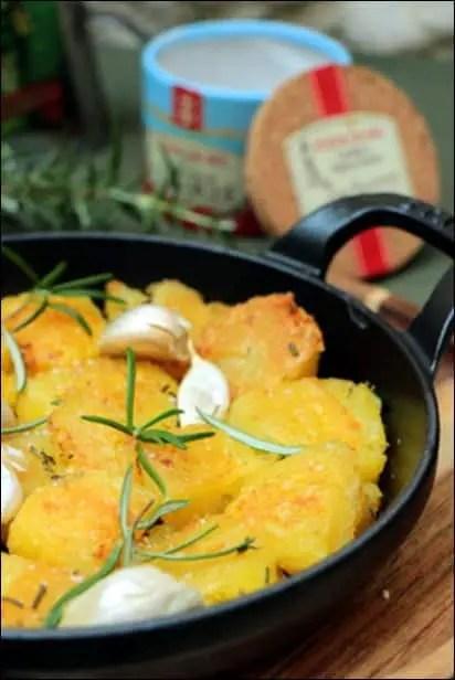 pommes de terre roties moelleuses