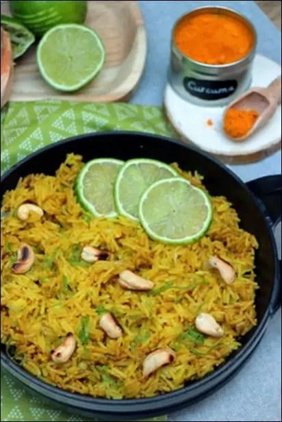 riz coriandre citron vert
