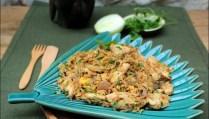 riz frit thaï au poulet