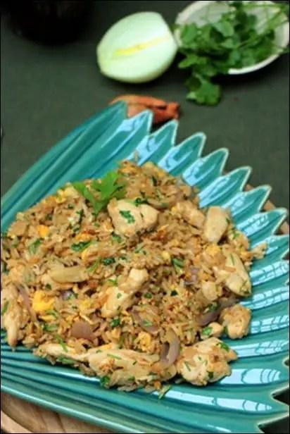 riz jasmin frit