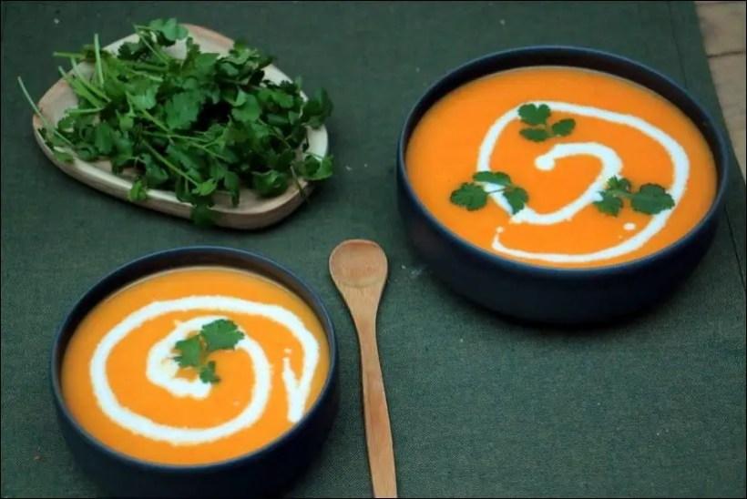 velouté carotte coco