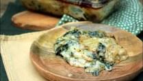 gratin de blette au roquefort