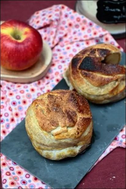 douillons feuilletés pomme faciles