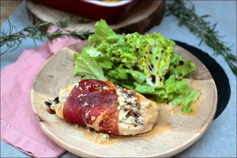filet poulet farci jambon fromage