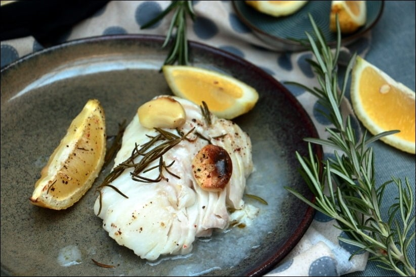 cabillaud citron herbes