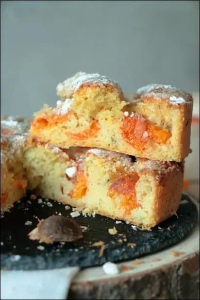 gateau brioche gourmand abricot