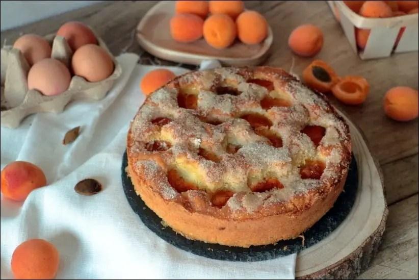 gâteau brioché abricot et thym