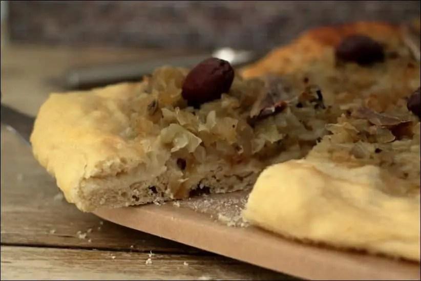 pissaladière pâte à pain