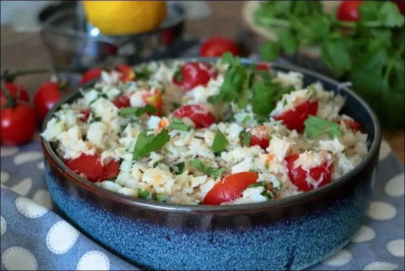 salade poisson froid