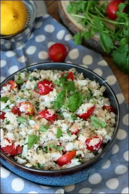 salade de poisson ile maurice