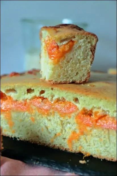 tarte abricot a la creme fraiche