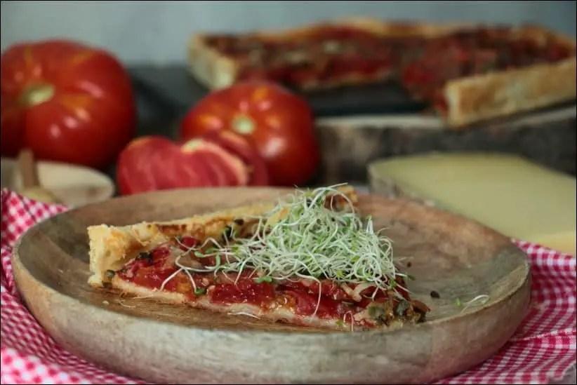 tarte tomate ete