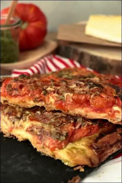 pizza tomate fraiche