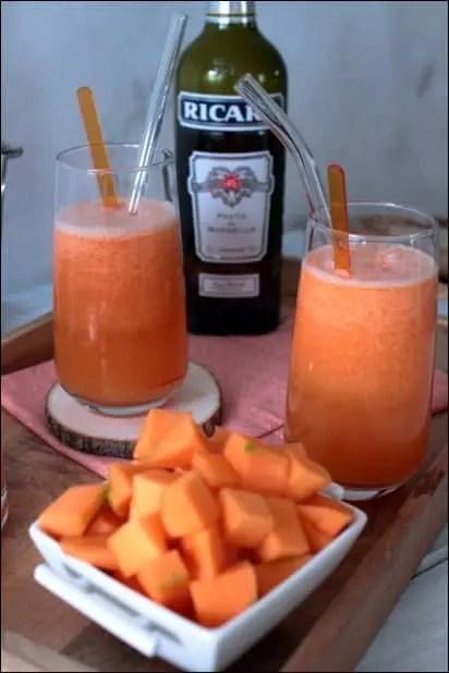cocktail melon anis